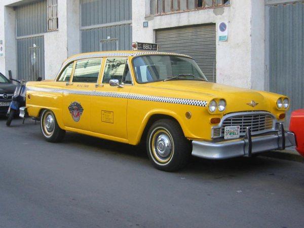 alquiler taxi new york vehiculos de escena