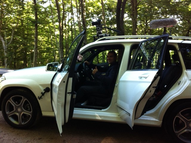 Mercedes Benz GLK precision driver tyreaction jordi nebot