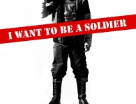 I want to be a soldier portada