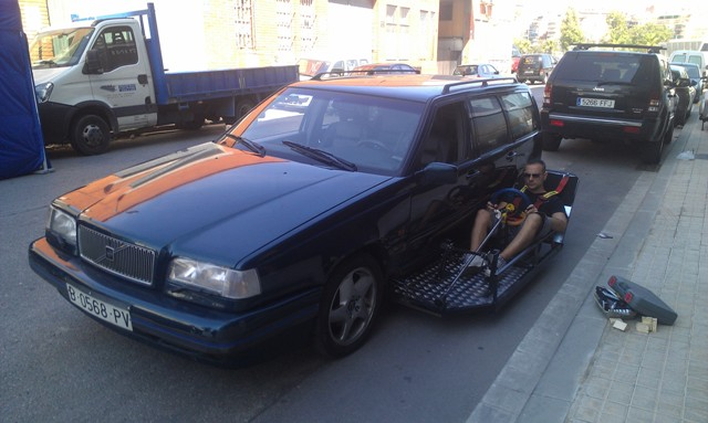 fx efectos especiales tyreaction barcelona españa jordi nebot conducción desde fuera exterior coche 2