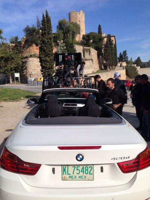 alquiler bmw anuncio blanco cabrio descapotable barcelona 420 serie tyreaction jordi nebot 1