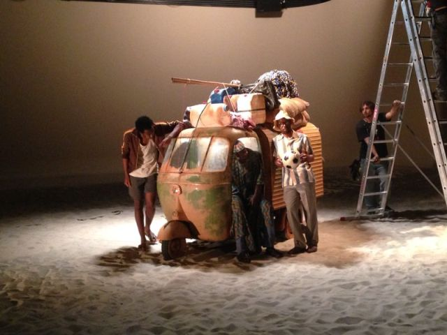 alquiler motocarro vespa videoclip shakira mundial brasil 2014 tyreaction jordi nebot  jaume  laiguana 2