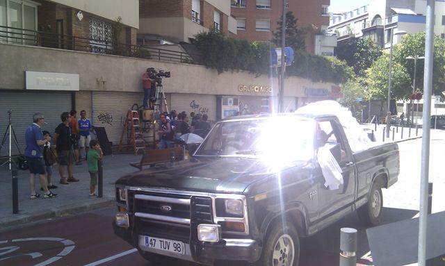 alquiler pickup americana mercedes clasico anuncio Lu tyreaction jordi nebot 2