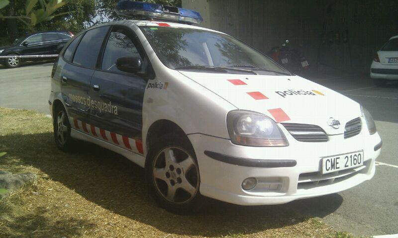 alquiler policia coche barcelona mosso esquadra tyreaction jordi nebot seat altea 2