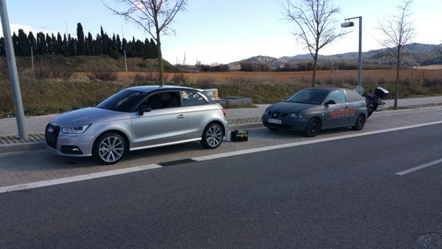 servicios vehiculos escena nuevo audi a1 carcare car care tyreaction barcelona pickup 2