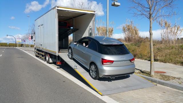servicios vehiculos escena nuevo audi a1 carcare car care tyreaction barcelona pickup 3