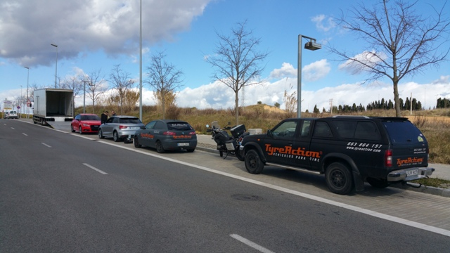 servicios vehiculos escena nuevo audi a1 carcare car care tyreaction barcelona pickup