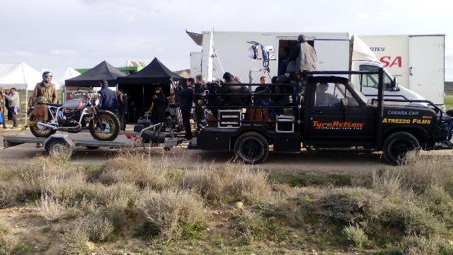 Alquiler camaracar cameracar ford f100 las bardenas reales navarra tyreaction pickup pelicula shooting camara car 4