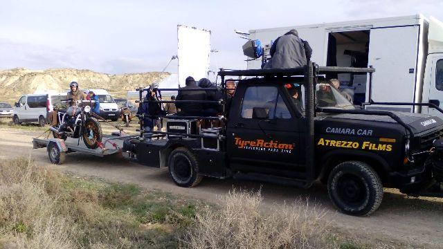 Alquiler camaracar cameracar ford f100 las bardenas reales navarra tyreaction pickup pelicula shooting camara car 7