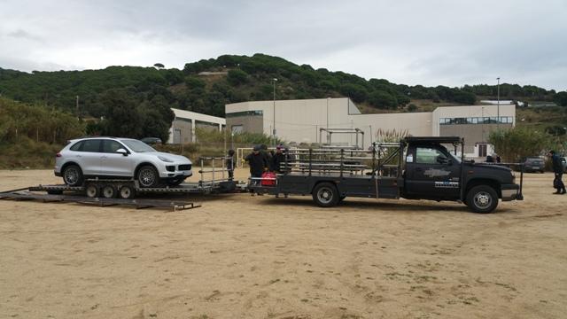 alquiler todoterreno 4x4 ingles tyreaction ahora o nunca making off vehículos cine escena 6