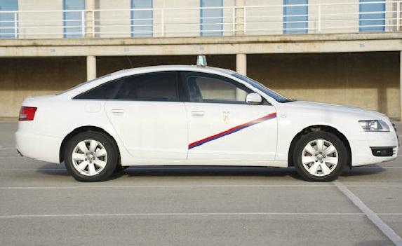 00002 Taxi blanco