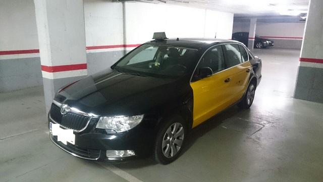 00003 taxi Skoda super b