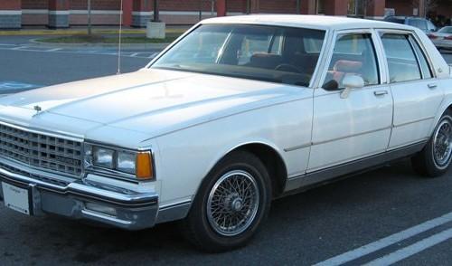 10005 Chevrolet Caprice blanco front