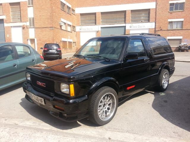 10018 4x4 GMC typhoon actual.