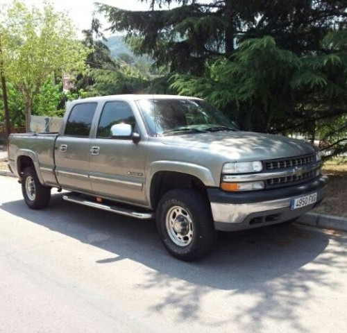 10023 Chevrolet Silverado front