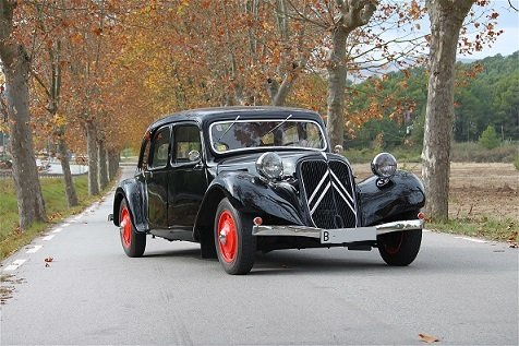 10349 Citroen Traction Avant 1939