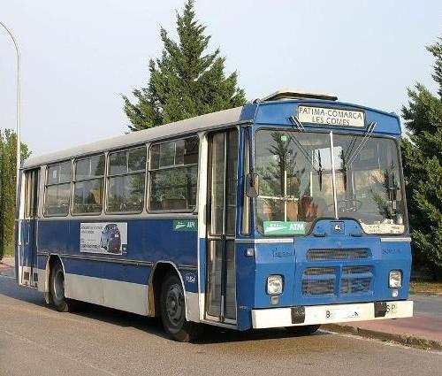 Bus Azul oscuro