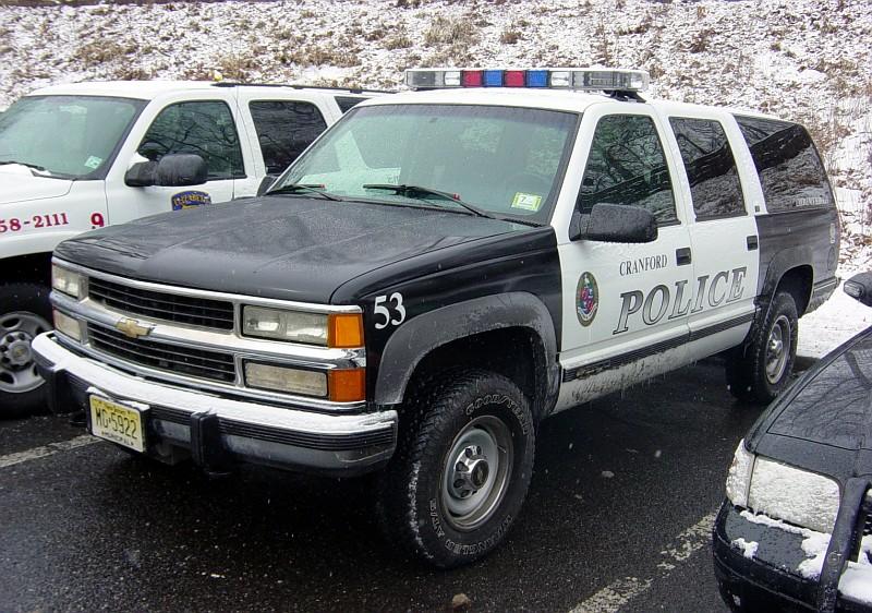 Chevrolet Suburban policia americano REFERENCIA