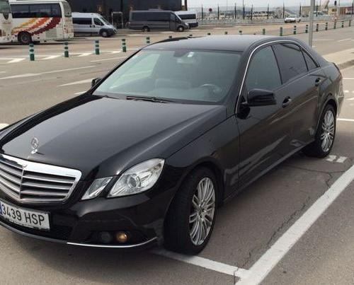 Mercedes E front
