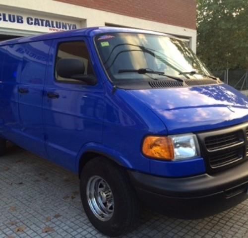 P00014 Dodge Van azul