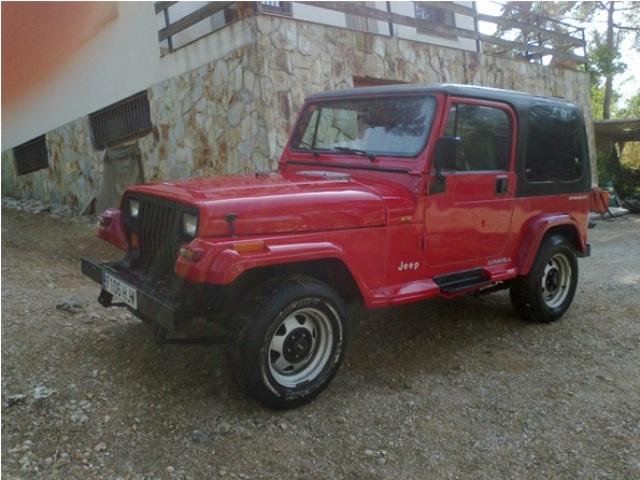 P0013 Wrangler rojo JJ