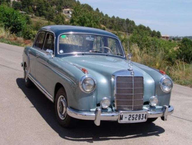 P0018 Mercedes 220 S