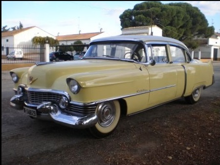 P0020 Cadillac serie 60 1954 alquiler coches americanos barcelona