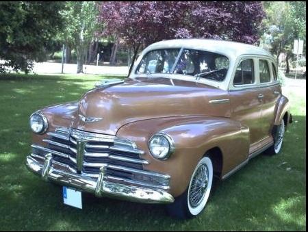 P0020 Chevrolet Feemaster 1947