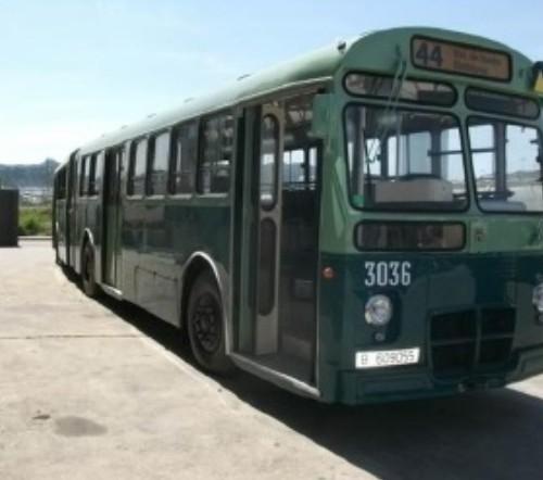 P0027 - Bus Pegaso verde