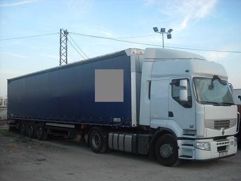 P0029 Camión Trailer con remolque de 13 mts.