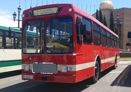 P0061 Bus rojo 2 front