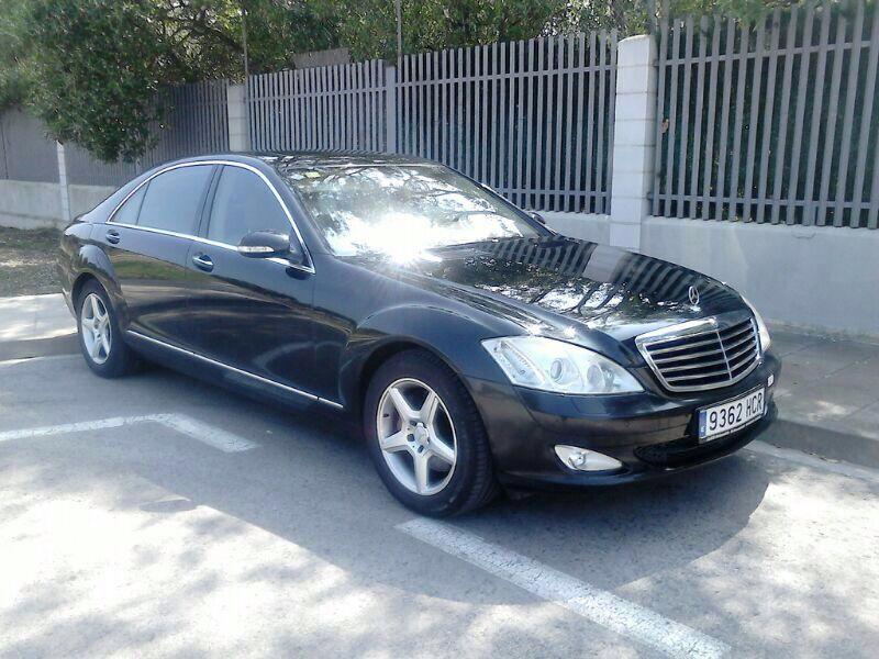 P0064 Mercedes S front