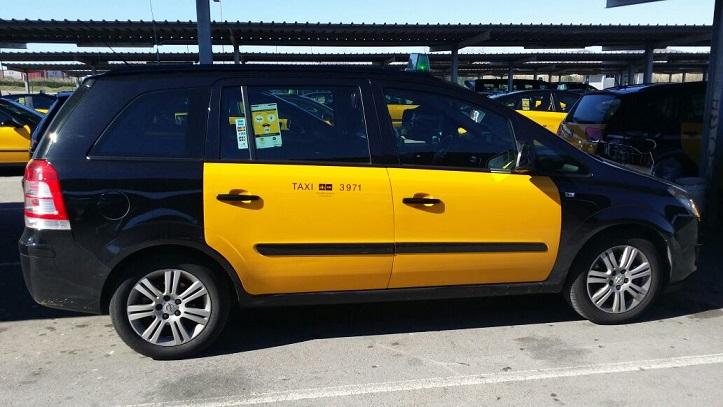 P0084 Taxi Opel Zafira - 7 plazas