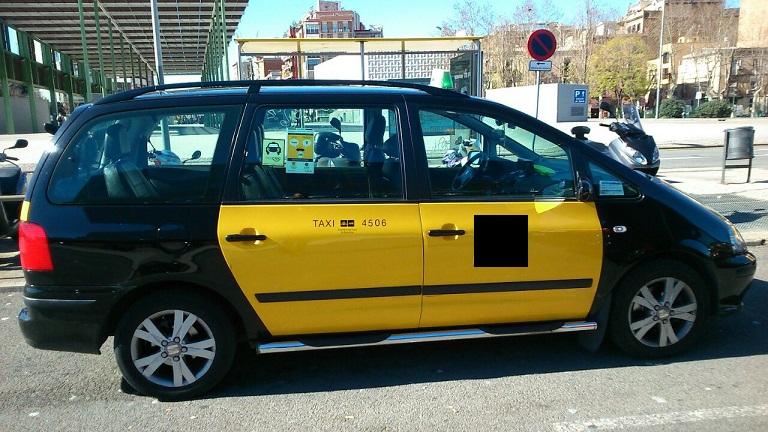 P0084 Taxi Seat alhambra - 7 plazas