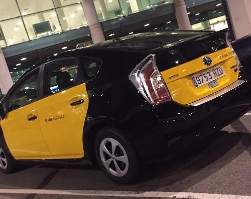 P0084 Taxi Toyota Prius