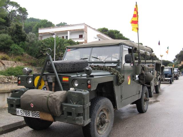 alquiler land rover vehiculos escena militar pelicula anuncios tyreaction barcelona