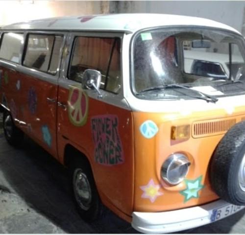 10061 alquiler volkswagen T2 hippie naranja (2)