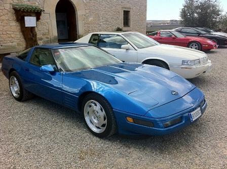 10189 Chevrolet Corvette 92 azul 1