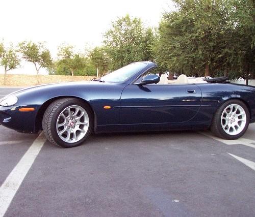 10327 Jaguar JXKR blau cabrio lat