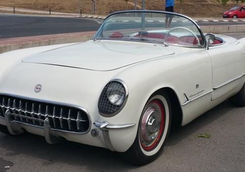 Corvette C1 alquiler coches americanos barcelona