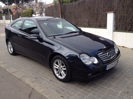 P0014 Mercedes Sportcoupe negre