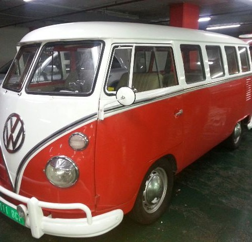 P0014 Volkswagen  T1 rojo blanco front