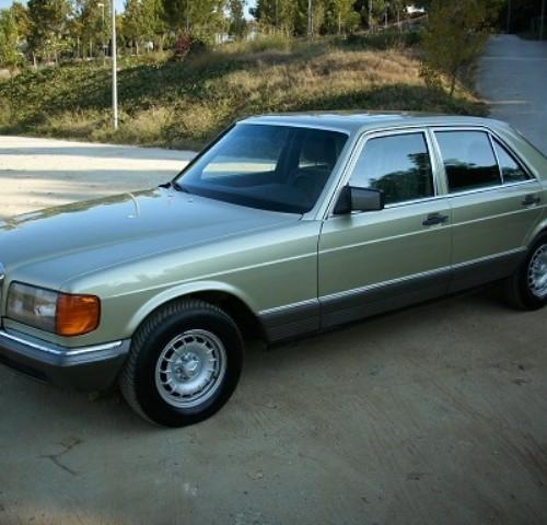 P0018 Mercedes 280 SE plata front