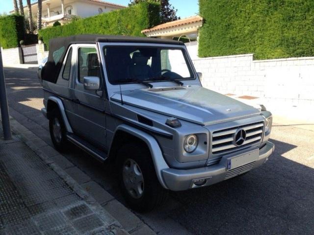 P0036 4x4 mercedes G 350 cabrio brabus