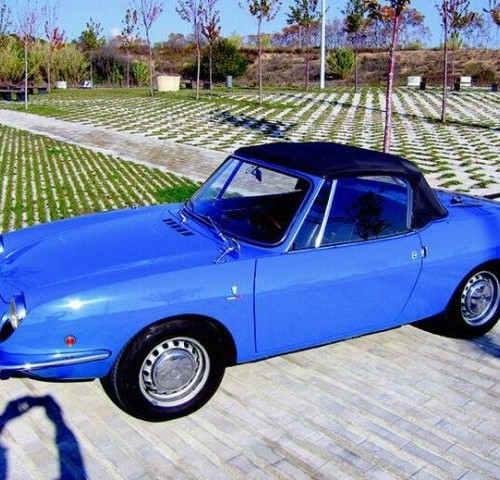 P0057 Fiat Spider 850 azul 60