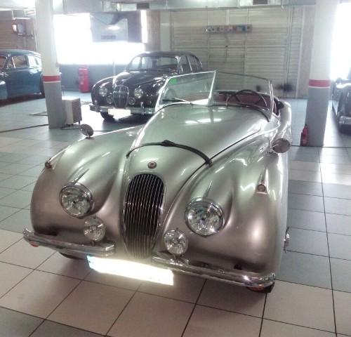 P0057 Jaguar XK plata