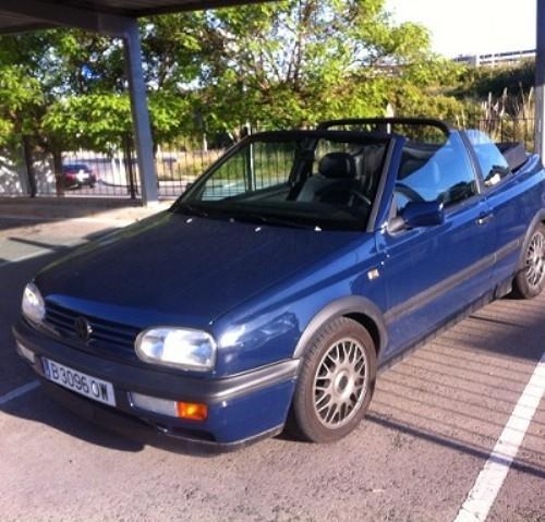 P0057 vw golf cabrio blau