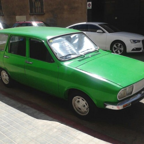 P0065 Renault 12 familiar verde
