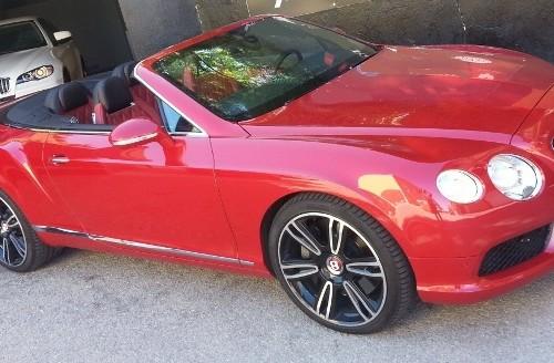 p0014 alquiler Bentley continental GT vehiculos escena tyreaction anuncios videoclip front