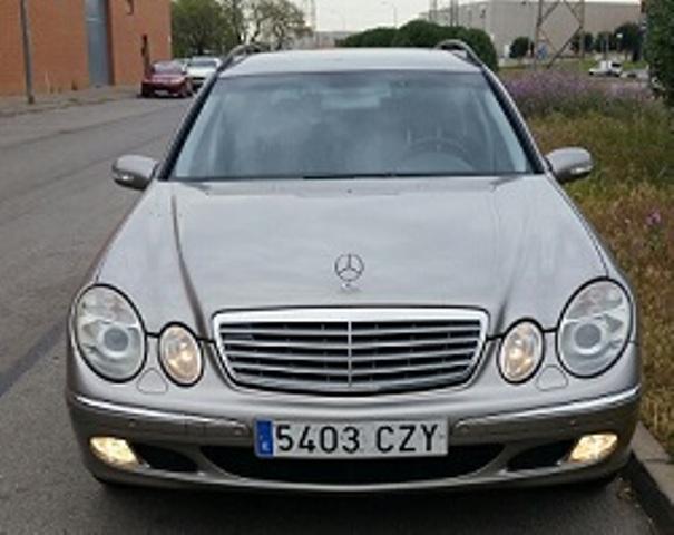 10344 Mercedes clase E 320 color cubanita front ok